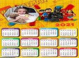 Calendário Lego Marvel 2021