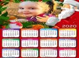 Calendário Papai Noel Gigante 2020