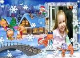 Feliz Natal Baby Foto Moldura