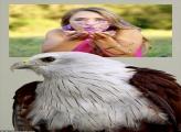 Moldura Águia