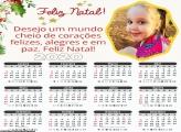 Calendário Feliz Natal Mensagem 2020