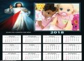 Calendário Jesus eu Confio e Vós 2018