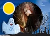 Fantasminha Colagem de Foto