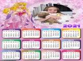 Calendário Princesa Aurora 2021