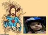 FotoMoldura Benção de Jesus Cristo