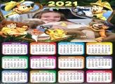 Calendário Safari Mickey 2021