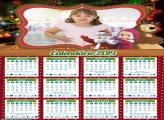 Calendário Natal da Masha e o Urso 2019