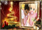 Árvore Mágica de Natal FotoMoldura