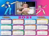 Calendário Desenho Lazy Town 2021