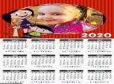 Calendário Show da Luna 2020