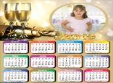 Calendário Brinde ao Ano de 2019