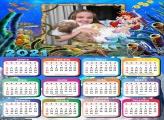 Calendário Ariel Fundo do Mar 2021