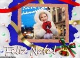 Feliz Natal Imagem Moldura
