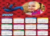 Calendário SpiderMan 2020