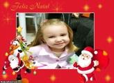 Cartão de Natal Papai Noel