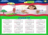 Calendário Transito Desenho 2019 Moldura