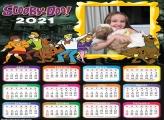 Calendário Scooby Doo 2021