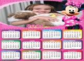 Calendário Minnie Rosa 2021