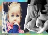 Pezinho do Bebê Moldura