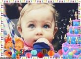 Aniversário de Crianças Moldura
