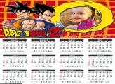 Calendário Dragon Ball Z 2020