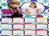 Calendário Princesa Ana 2019