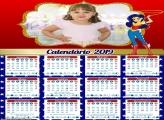 Calendário da Mulher Maravilha 2019