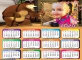 Calendário Mágica Masha 2020