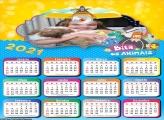 Calendário Bita e os Animais 2021