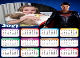 Calendário Super Homem 2021