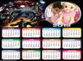 Calendário dos Vingadores 2018
