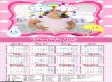 Calendário Chuva de Amor Menina 2019