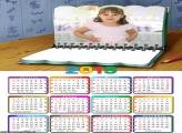 Calendário Caderno 2019 Moldura
