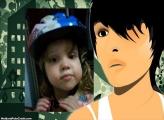 FotoMoldura Emo Menino