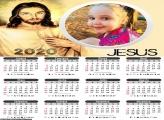 Calendário Jesus Cristo 2020