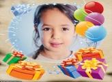 Aniversário Presentes Moldura