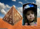 FotoMoldura Pirâmide Do Egito Oriental