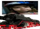 FotoMoldura Locomotiva Expresso