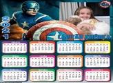 Calendário Capitão América 2021
