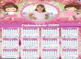 Calendário da Bailarina 2019
