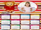 Calendário Tigre Daniel 2019