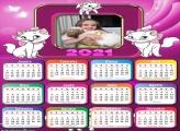 Calendário Gatinha Marie 2021