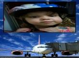 FotoMoldura Avião Embarcando