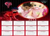 Calendário Ladybug 2018