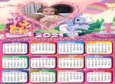 Calendário Aurora 2021 Princesa Disney