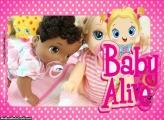 Moldura Baby Alive