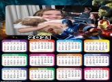 Calendário Marvel 2021 Personagens