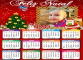 Calendário Papai Noel e Árvore Natal 2020