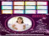 Calendário Luzes Lilás Natal 2019