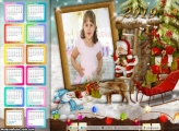 Calendário Casa do Papai Noel 2019
